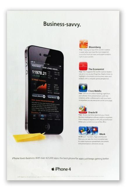 iPhone 4 magazine ad Iphone, Samsung galaxy phone, Best