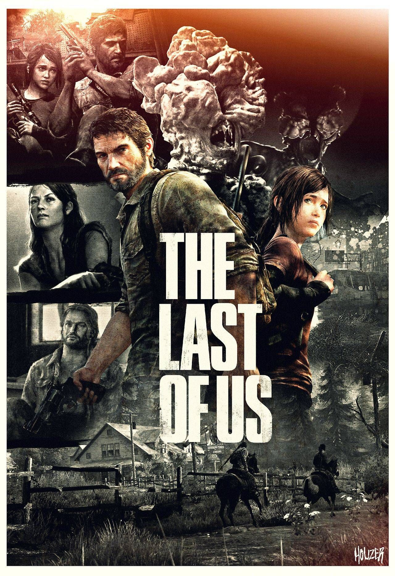 My Poster Art For The Last Of Us Personajes De Videojuegos Videojuegos Ps4 Games Videojuegos