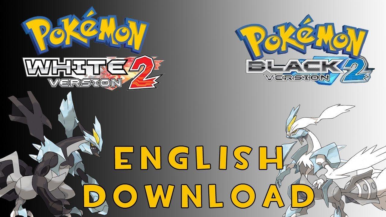 pokemon black and white english rom