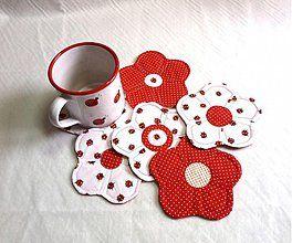 Úžitkový textil - kvetinkovka - 2181534