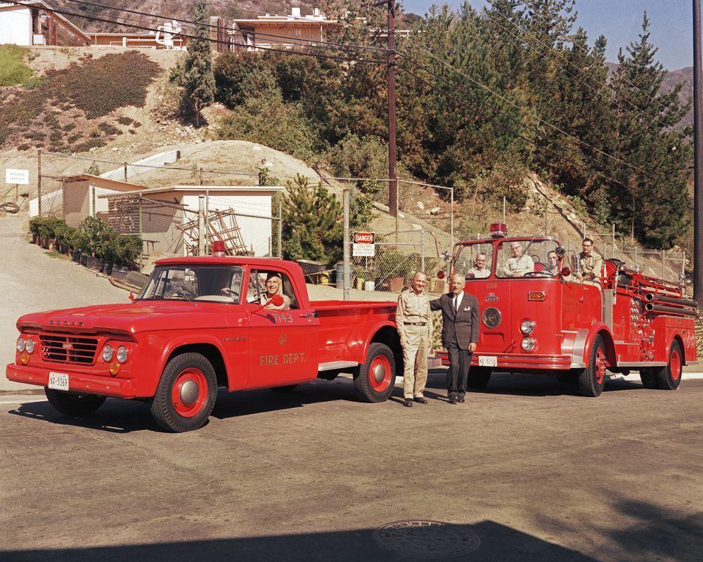 1963 Dodge Fire Trucks Emergency Vehicles Fire Rescue