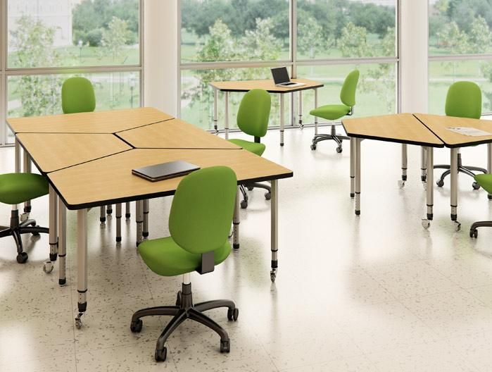 Wood V Chemical Resistant Plastic Laminates Conference Room