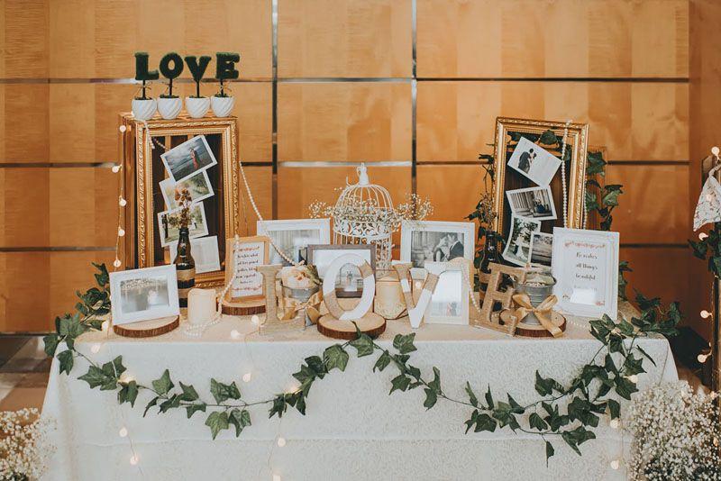 Pin On Wedding Reception Table