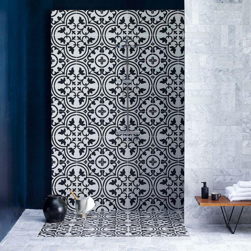 7 Bathroom Tile Ideas To Steal | Tile Bathroom, Bathroom Wall Tile, Patterned Wall Tiles