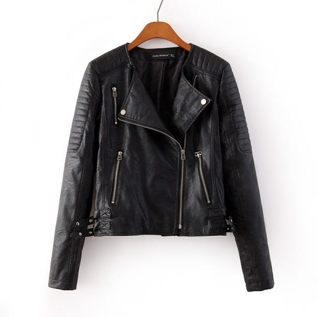 female leather jacket - Google Search | VANNA | Pinterest | Female ...