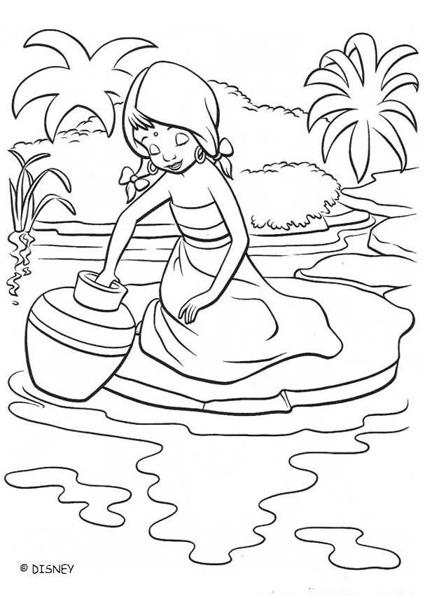 Coloring Pages Of Disney Movies : The jungle book disney movie coloring books shanti at