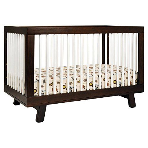 Babyletto Babyletto Hudson 3 in 1 Convertible Crib Collection, Espresso/White, Wood babyletto http://www.amazon.com/dp/B00E2HA5ZM/ref=cm_sw_r_pi_dp_43gLub0MQEWZD