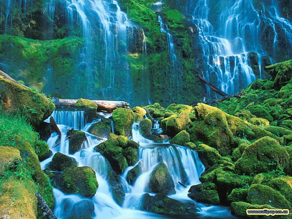 Amazing 3d Wallpapers For Computer Desktop Waterfall Pictures Waterfall Wallpaper Waterfall