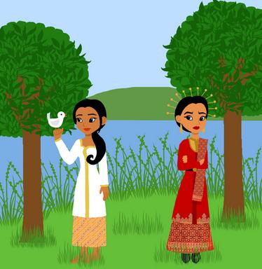Cerita Bawang Merah Dan Bawang Putih Dalam Bahasa Inggris Beserta Artinya Http Www Kuliahbahasainggris Com Cerita Bawang Merah Da Bawang Putih Bawang Merah