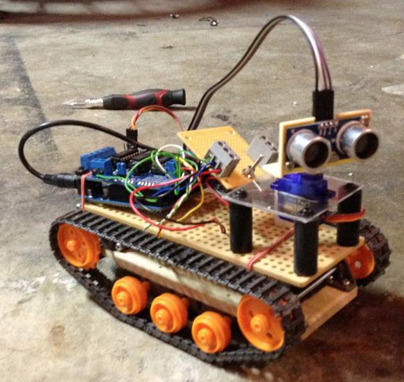 Selfdrivingrobot sandboxduino building self driving
