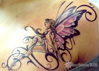 Pin En Tatuaje De Hadas