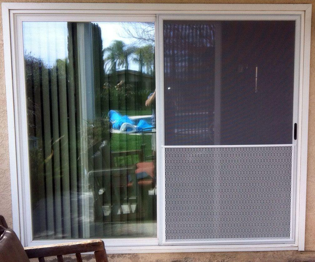 Custom screen door grill guard thefallguyediting