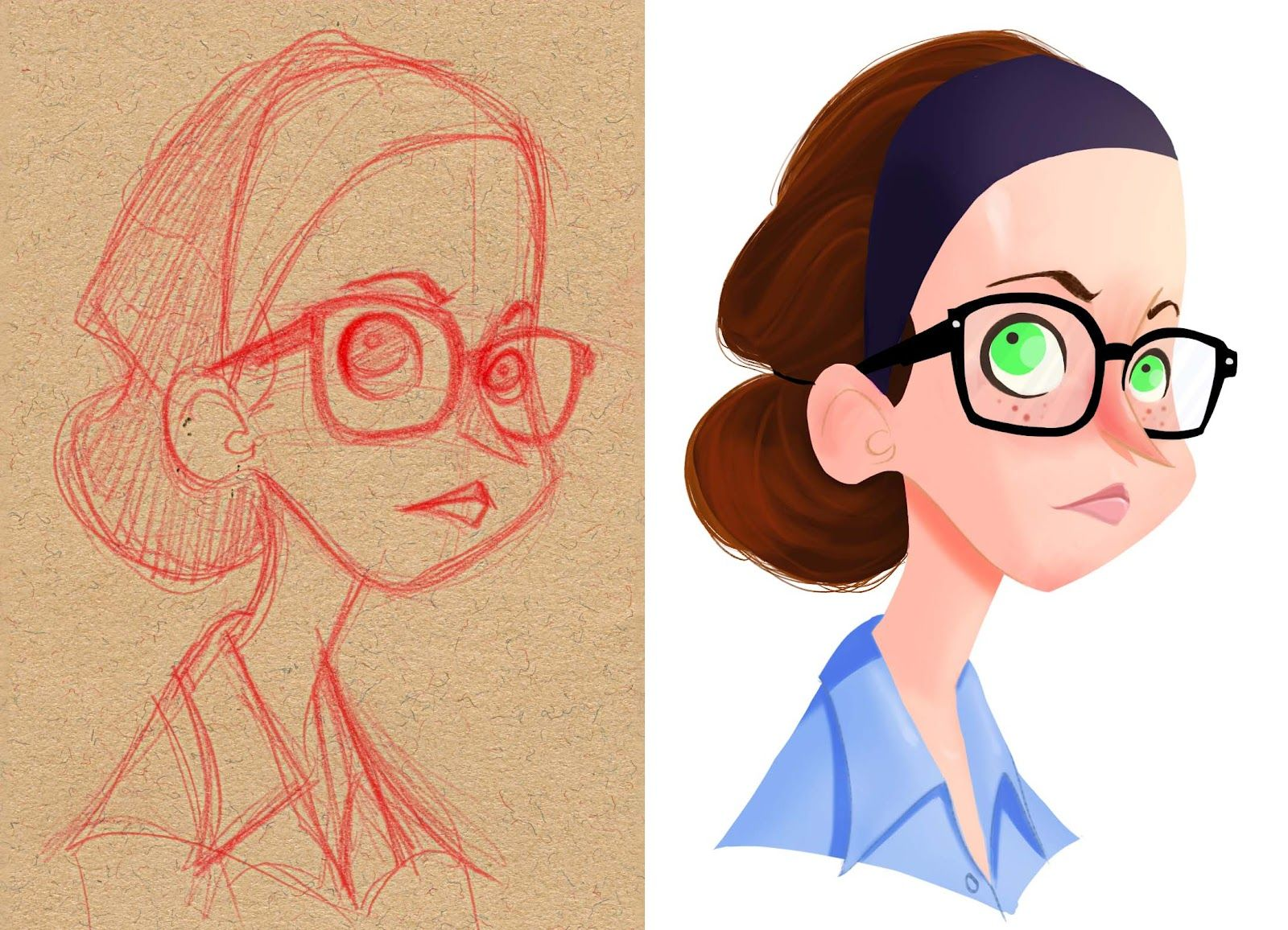 pierwsza stawka nowy wygląd różnie Pin by Aaron Williams on Sketch the World | Character design ...