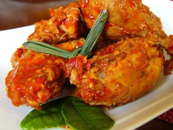 Chicken Rica-Rica from North Sulawesi, Indonesia