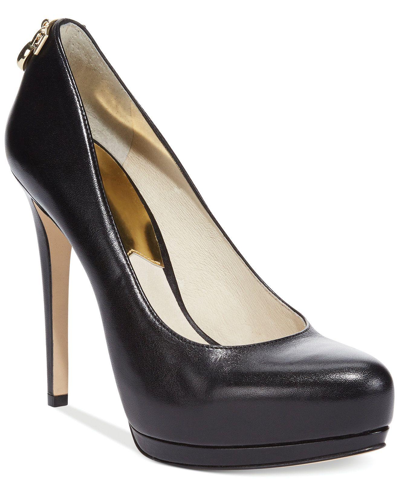 a52a46c3042 MICHAEL Michael Kors Hamilton Platform Pumps - Heels - Shoes - Macy s