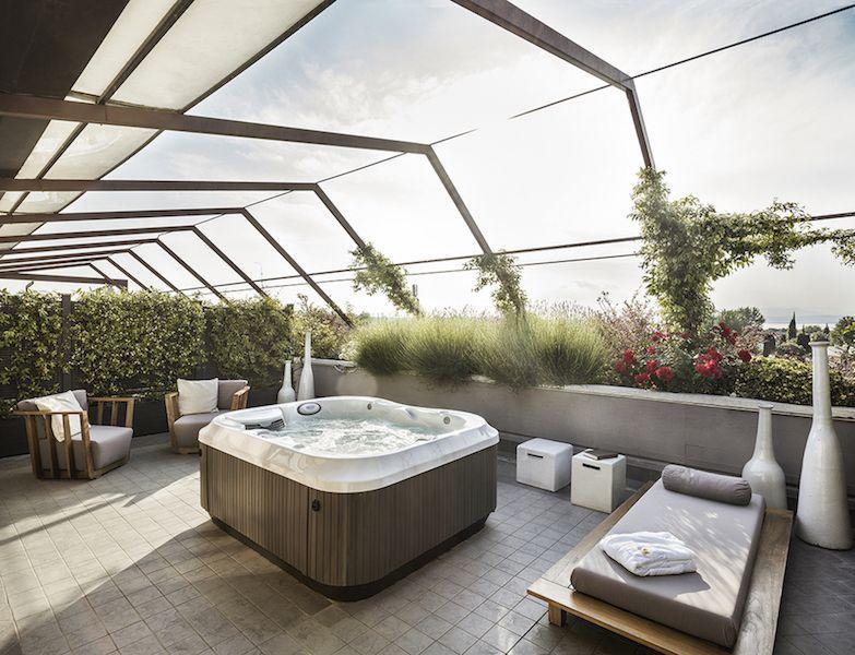 Suite con Terrazzo Vista Lago di Garda | Hotel di Lusso Peschiera ...