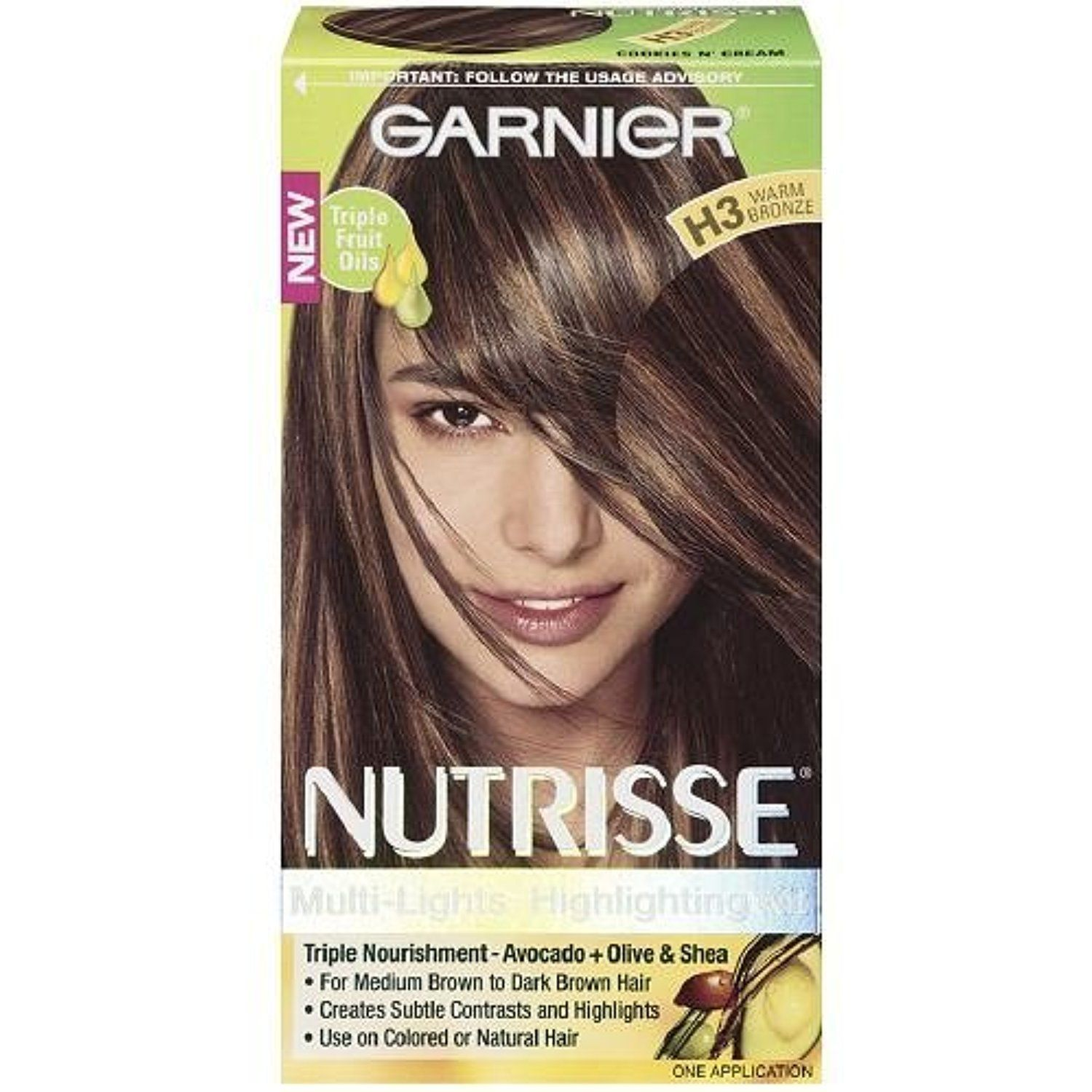 Garnier Nutrisse Nourishing Multi Lights Highlighting Kit Warm