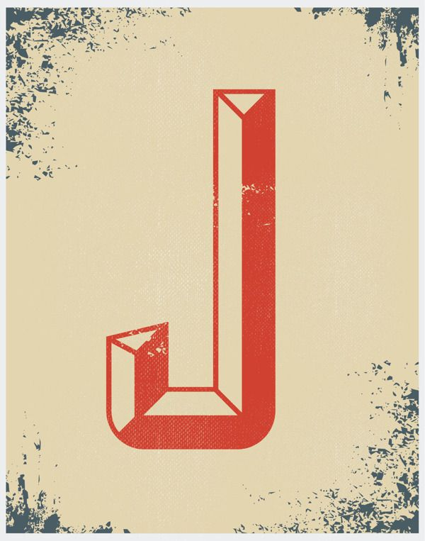 Vintage Type Posters By Cailen Guhl Via Behance