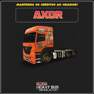 SKINS HEAVY TRUCK SIMULATOR: AXOR GENERAL LEE   Heavy truck