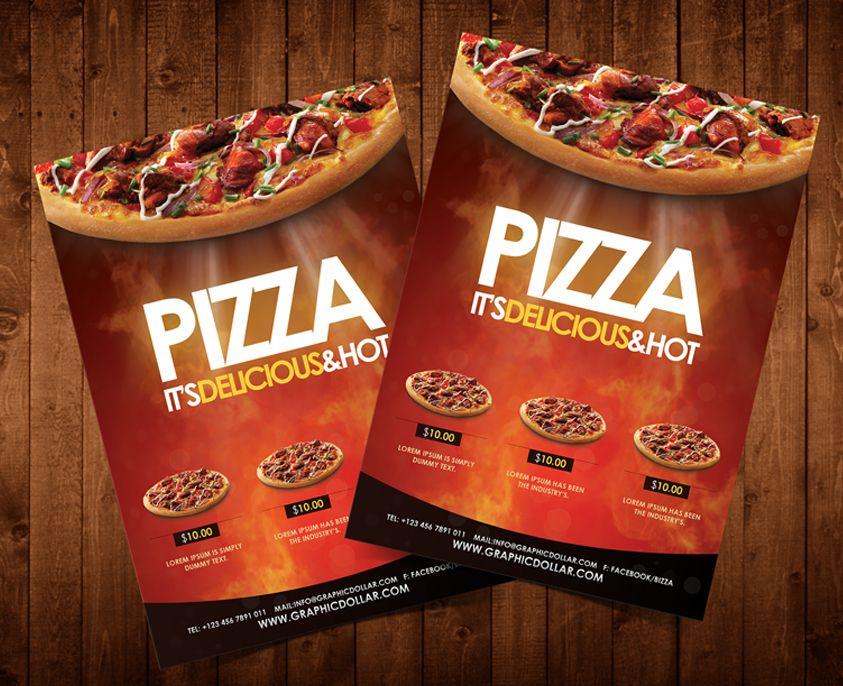 Pizza Flyer Template Httpgraphicdollardownloadspizza Flyer
