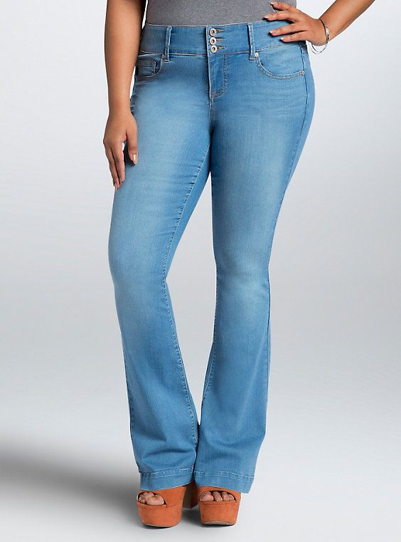 6ff5d6f8b378e4 Flared Jeans - Light Wash (Tall)   Good Jeans   Flare jeans, Jeans ...