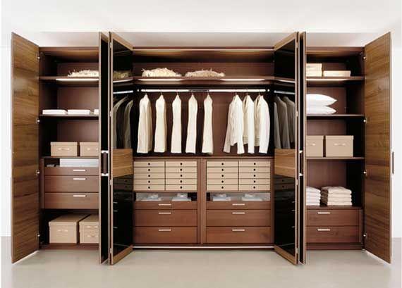 Attractive Modern Bedroom Wardrobes Design Ideas By Huelsta