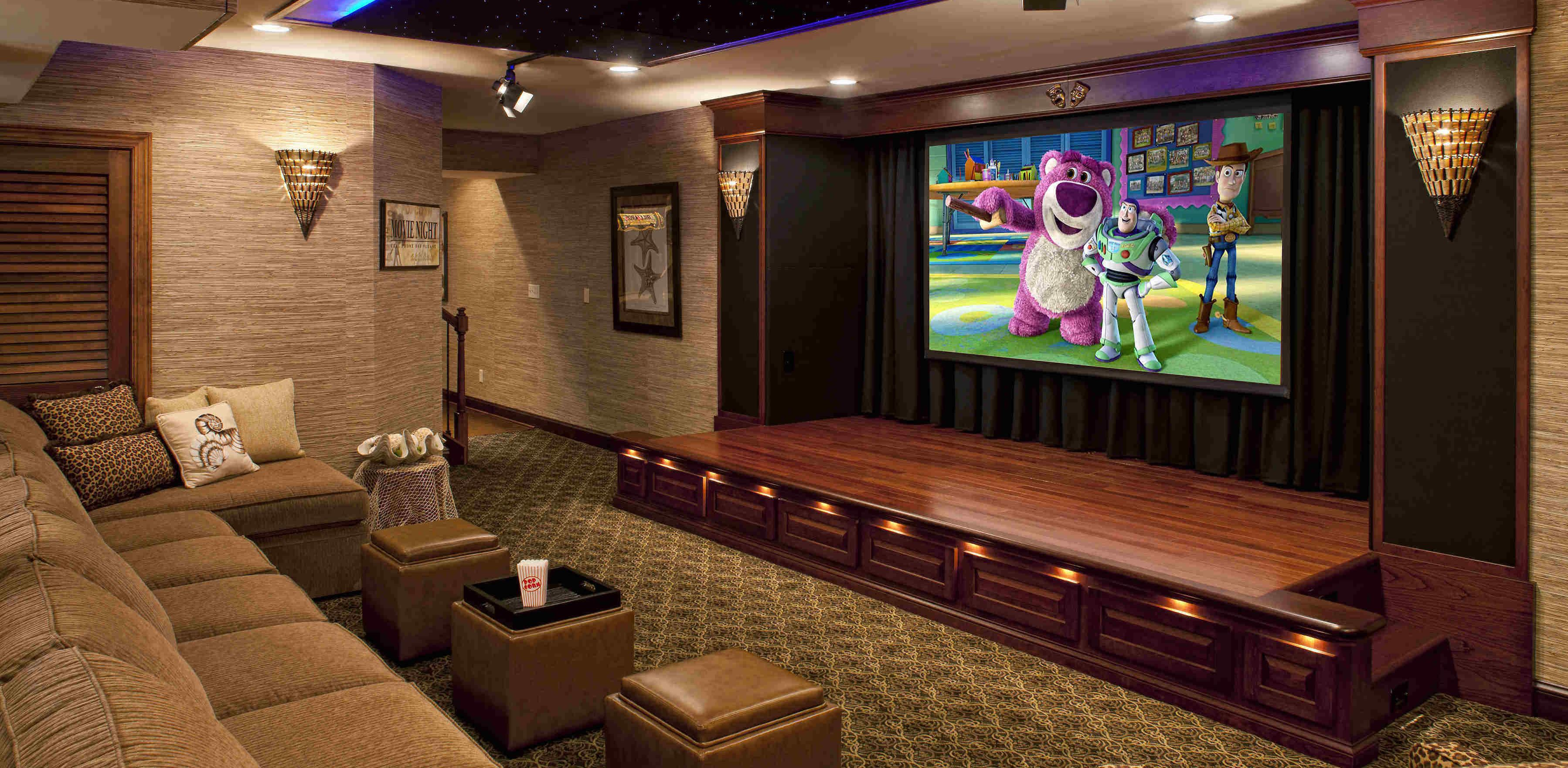 performance theater 4 home theater rooms pinterest home
