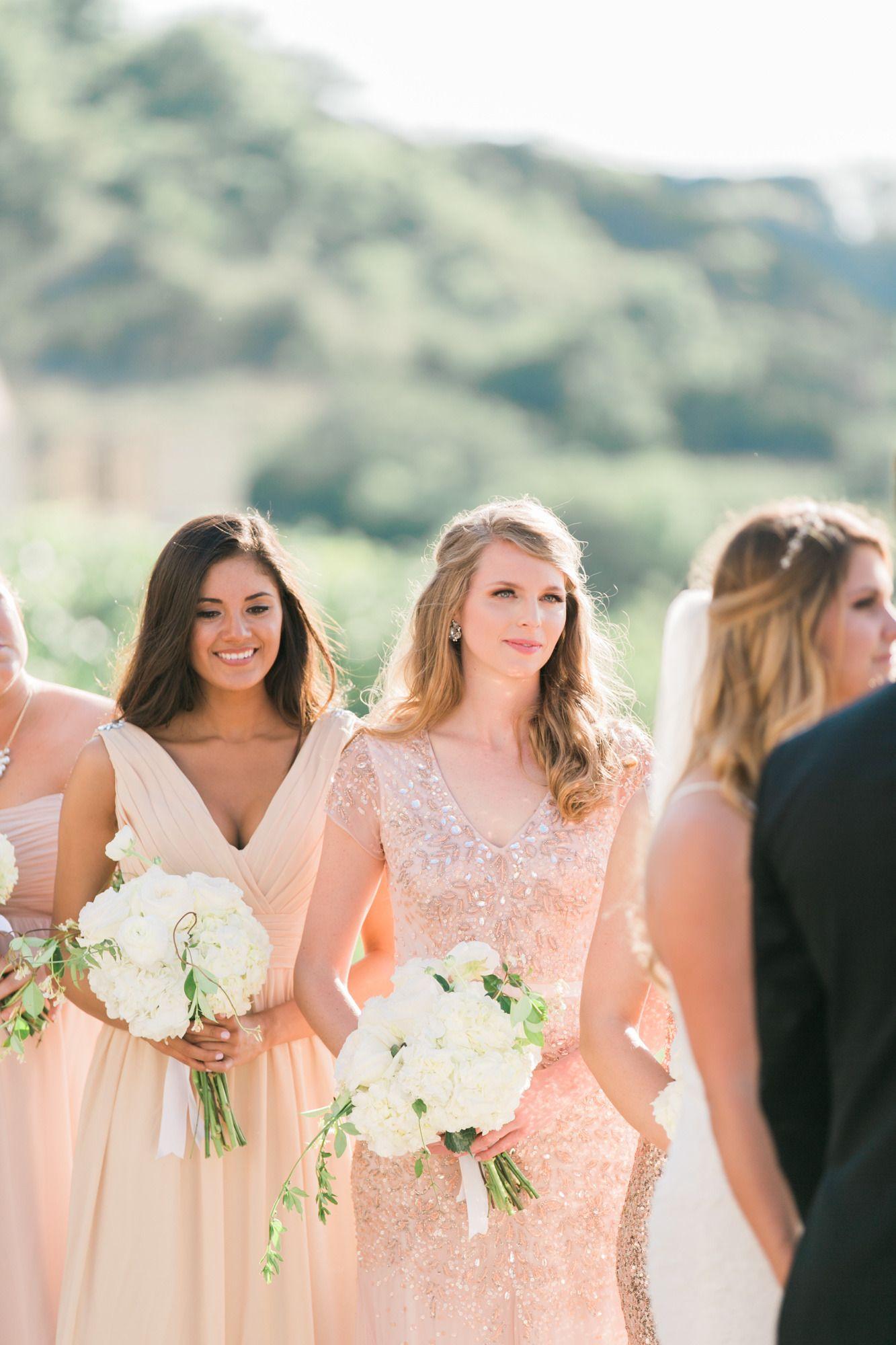 Elegant Austin Lakeside Estate Wedding Wedding dresses