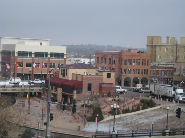This Is Part Of Downtown Pueblo From Our Newest Parking Garage You Can See The Vail Hotelspueblo Coloradobull