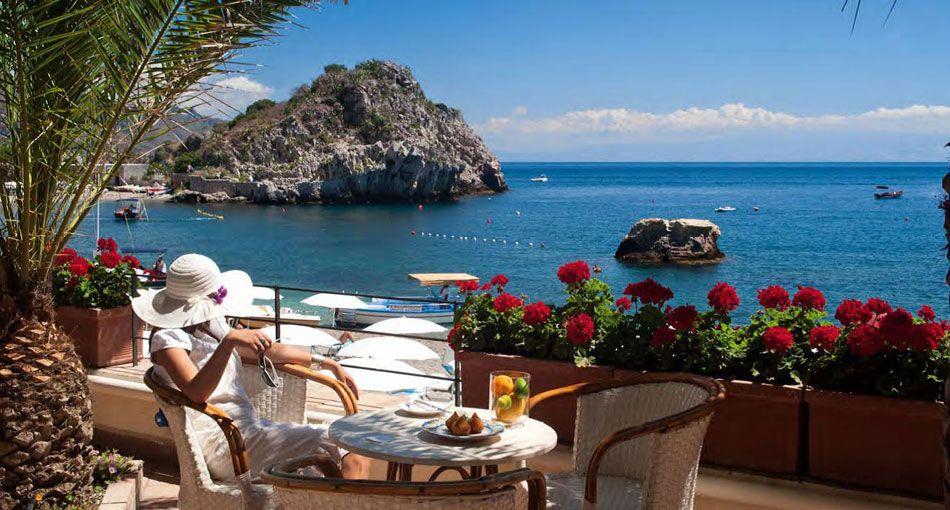 Hotel Villa Sant Andrea Taormina Beach