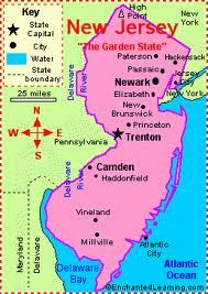 New Jersey New Jersey Jersey City State Symbols