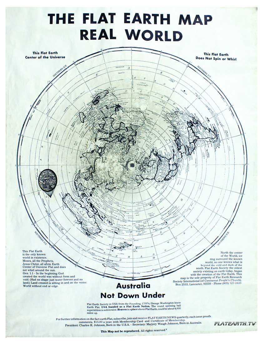 The Flat Earth Map Real World | flat | Flat earth conspiracy, Flat