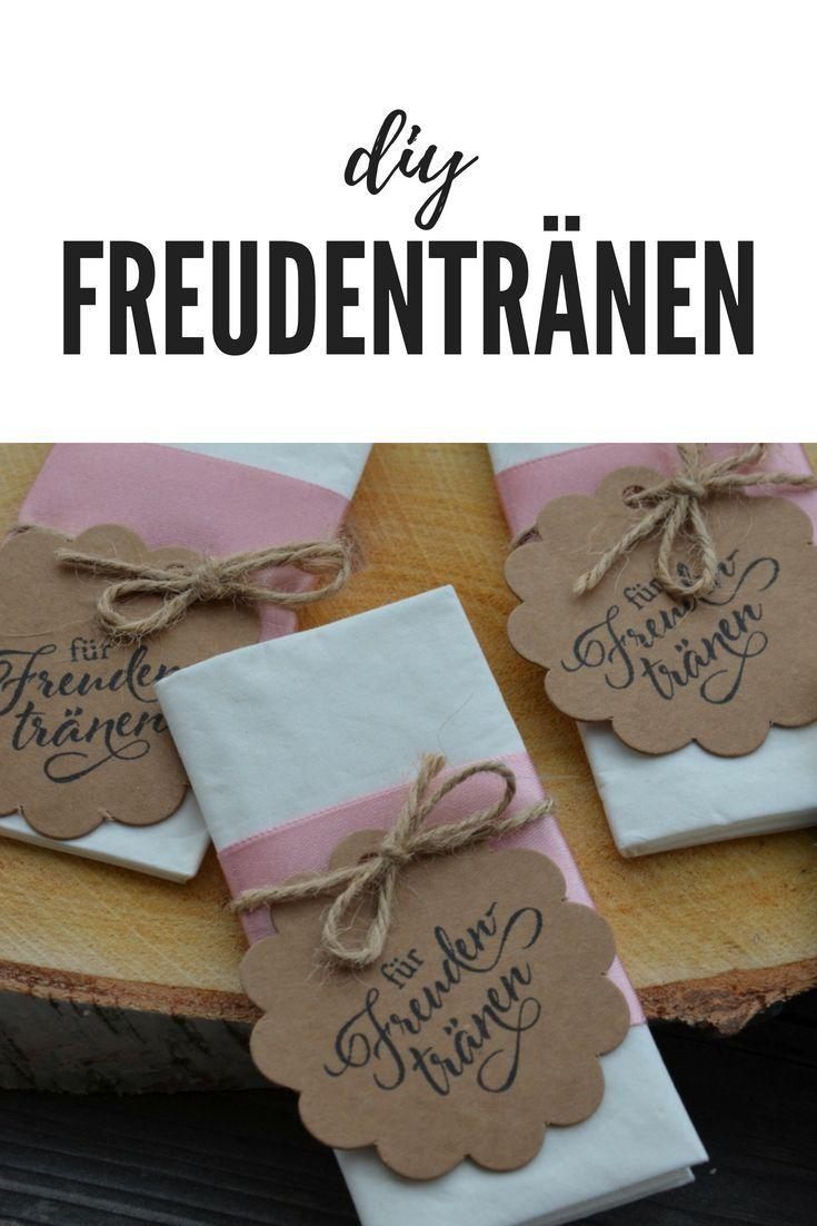 DIY Freudentränen -