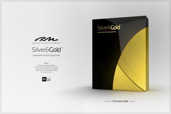 RM Silver & Gold by Roman Melentyev on @creativemarket
