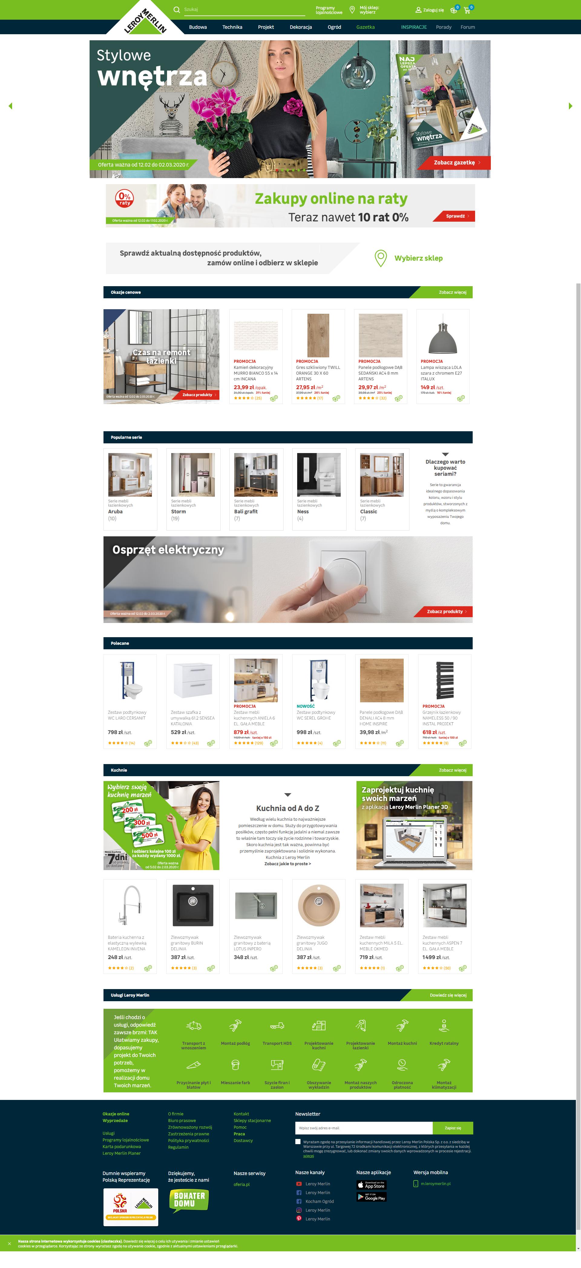 Leroy Merlin Merlin Web Design Design