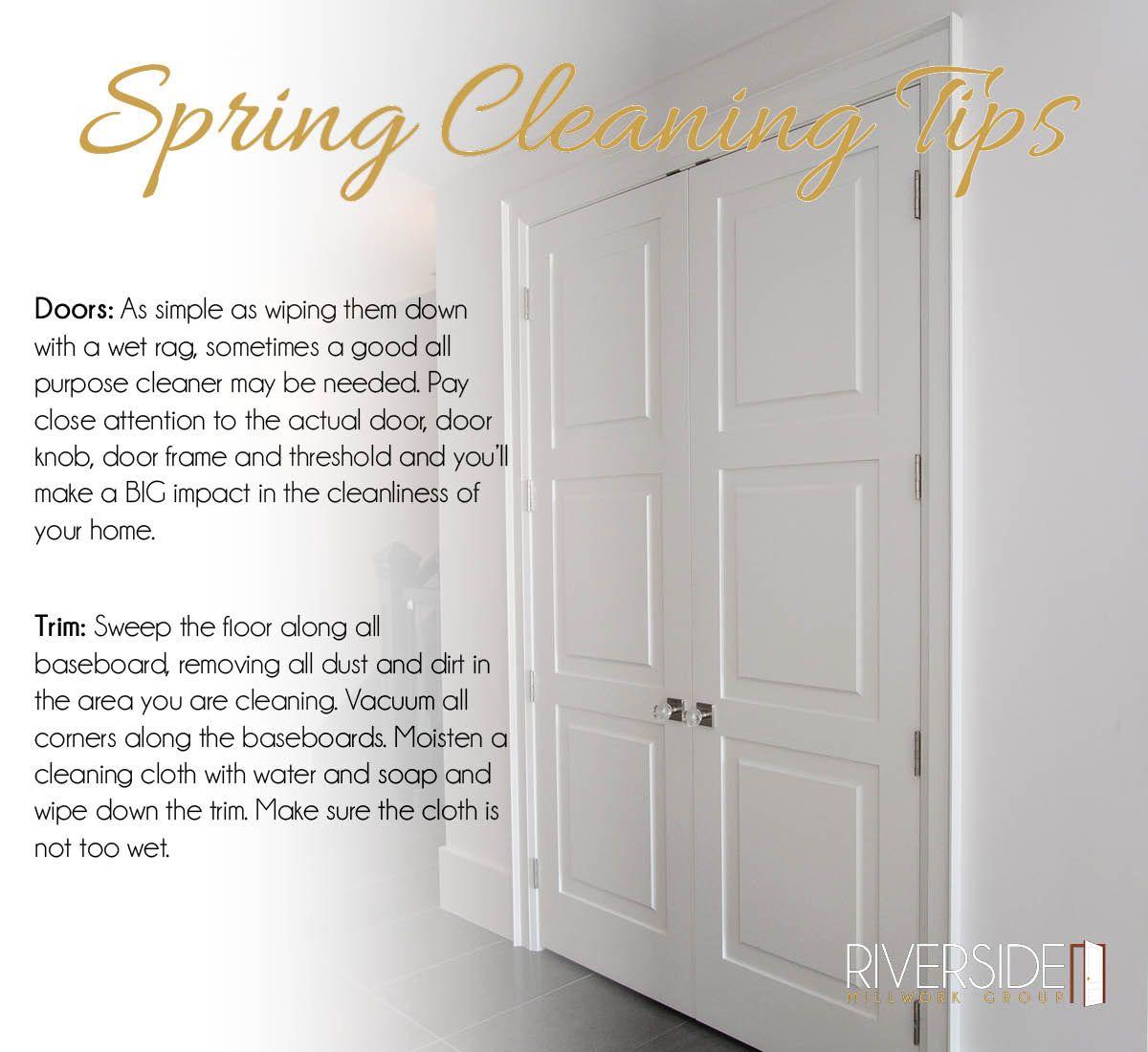 Spring Cleaning Doors Trim Custom Door Spring Cleaning Doors Interior