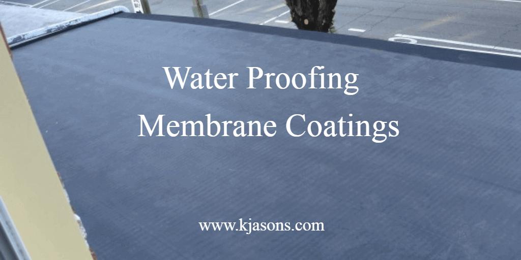 Waterproofing Membrane Coatings Pucoatings Leakproofingkerala Roofcoating Kerala Renovations Structral Membrane Roof Coating Civil Engineering Companies