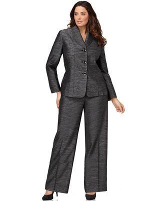 Wide Leg Pant Suit Womens