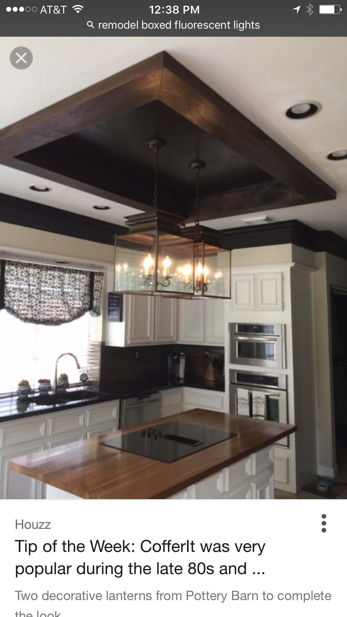 Box Light Update Kitchen In 2019 Kitchen Ceiling Lights Kitchen