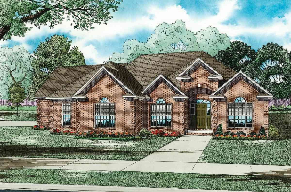 2471 SF Southern House Plan with Game