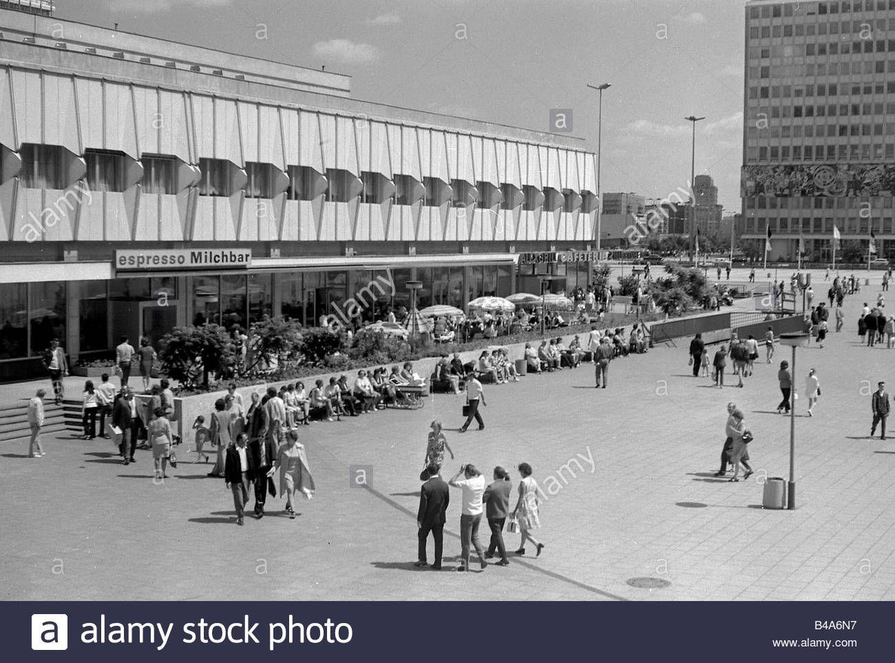 Alexanderplatz 1970 West Berlin Germany Berlin