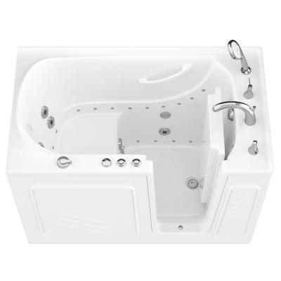 Universal Tubs Hd Series 53 In Right Drain Quick Fill Walk In