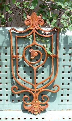 Wrought Iron Pieces To Use As Wall Decorations Metal Wall Art