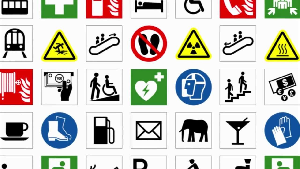 Iso Symbols For Safety Signs And Labels Youtube Mhaa Al
