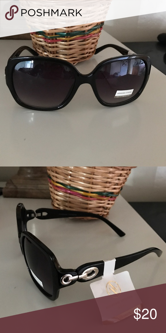 57e8b07474 NWT Adrienne Vittadini sunglasses Gorgeous sunglasses in black with UV  protection. New Adrienne Vittadini Accessories Sunglasses