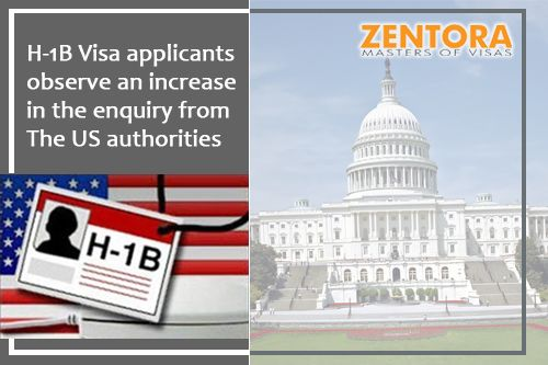 H1b Visa Applicants Observe An Increase In The Enquiry From The Us