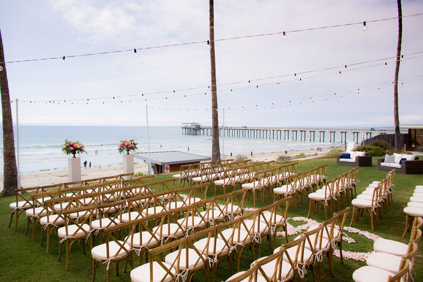 Scripps Seaside Forum Real Wedding Amy Bryan Exquisite Weddings