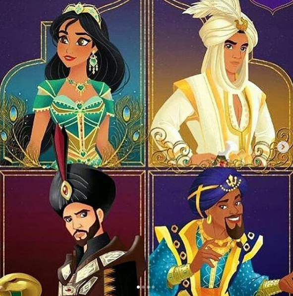 Aladdin 2019 By Loldisney On Deviantart Best Representation Descriptions Related Searches Aladdin 2019 Castwill Smith Aladd Disney Modern Disney Disney Art