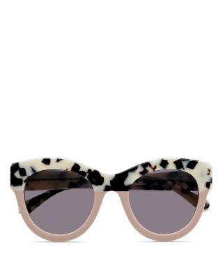 Falabella Chain Cat Eye Sunglasses, 50Mm, White Havana Light Pink ... 0f93480eee