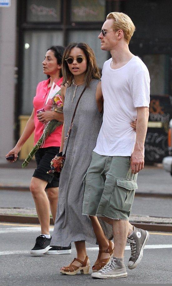 Zoe kravitz dating michael fassbender